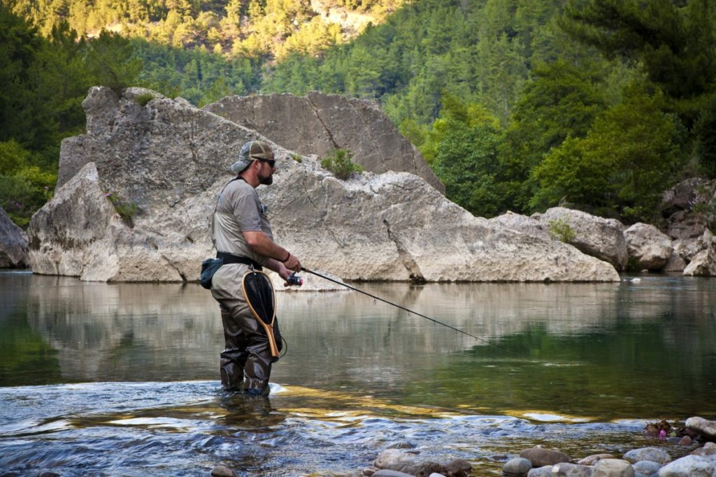 River fishing tips for fall
